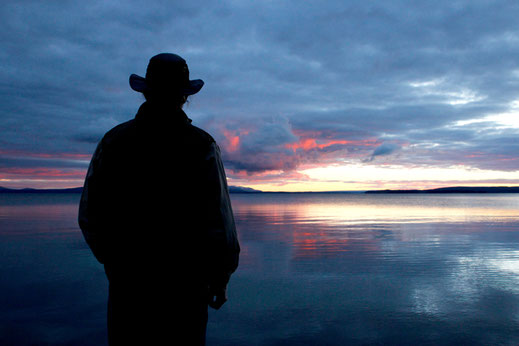 Yellowstone Lake, Wyoming, Cowboy