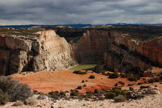 Bighorn Canyon Overlook, visit Montana