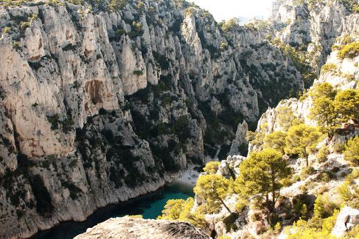 Wanderung Calanques, Côte d'Azur, Frankreich, Roadtrip Frankreich