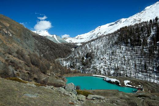 Mosjesee, 5-Seenweg, Zermatt, Matterhorn, Gletschersee, Schweiz