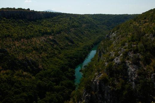 Krka Nationalpark Canyon, Nationalparks Kroatien