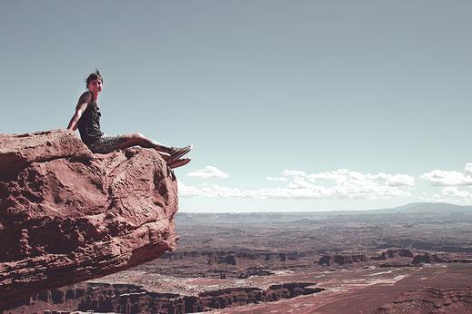 Freies Leben, selbstbestimmtes Leben, Canyonlands National Park, lonelyroadlover