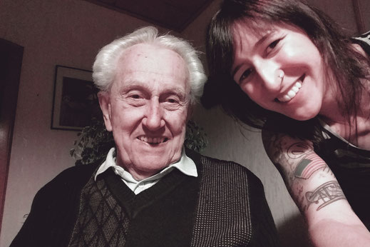 Grandpa, family, Christmas