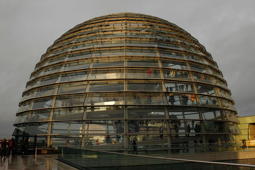 Visit Reichstag in Berlin, climb up the dome, architecture Berlin