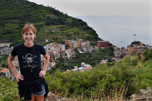 Manarola, Cinque Terre, Italy, hiking