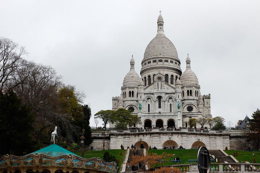 Sacre Coer, cathedral Paris