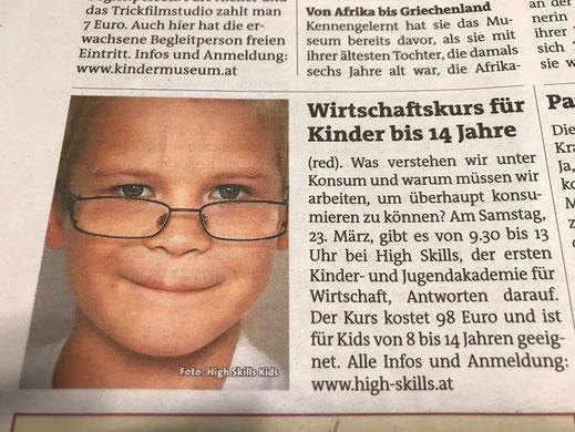 """""""bz-Wiener Bezirkszeitung"""", 20. März 2019"""
