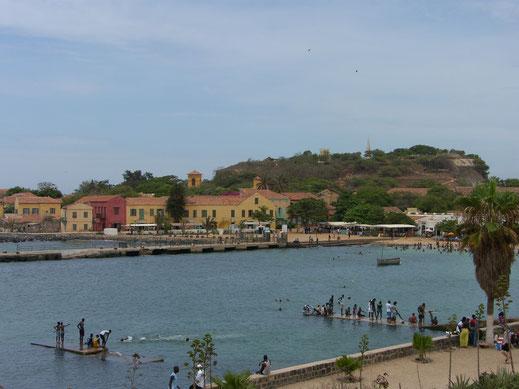 Der Hafen von Gorée