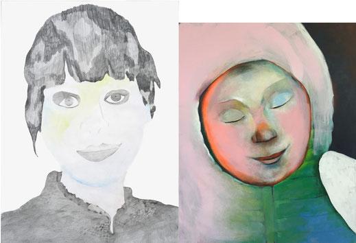 von links: Zandra Harms und Gunilla Jähnichen