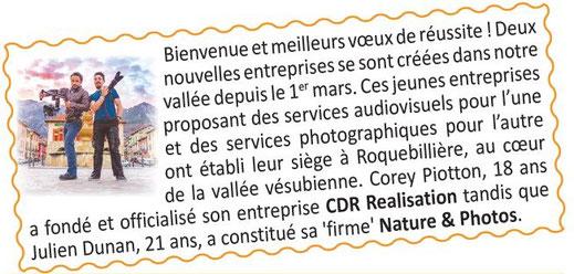 Corey Piotton - CDR REALISATION