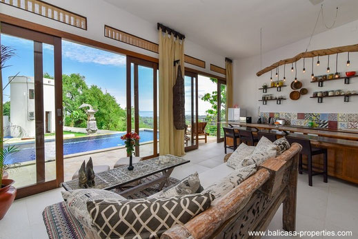 North Bali villa for sale in the hills above Lovina