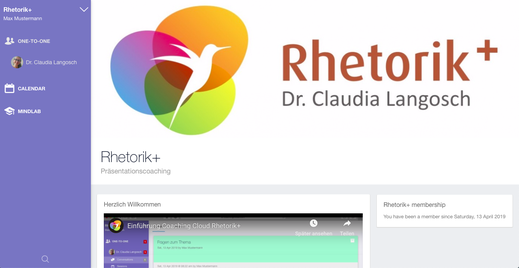 rhetorik kurs online, rhetorik training online