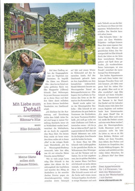 Wenningstedt-Braderup Sylt - Das Magazin 2017