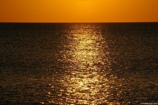 Sonnenuntergang August 2013
