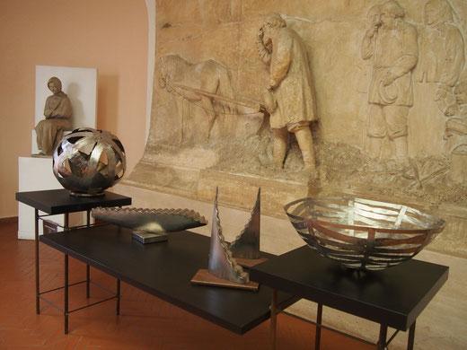 """""""unisono"""" museo canonica villa borghese roma- 2015"""