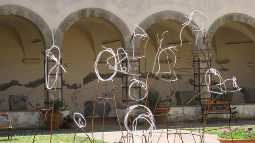 """""""Gli Invisibili""""argilla e fuoco -polo culturale museo tolfa 2017"""
