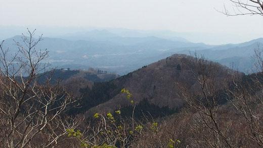 小六所山とエボシ方面