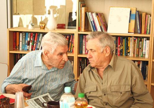 Herr Mordko Craizler und Herr Michail Beylkin