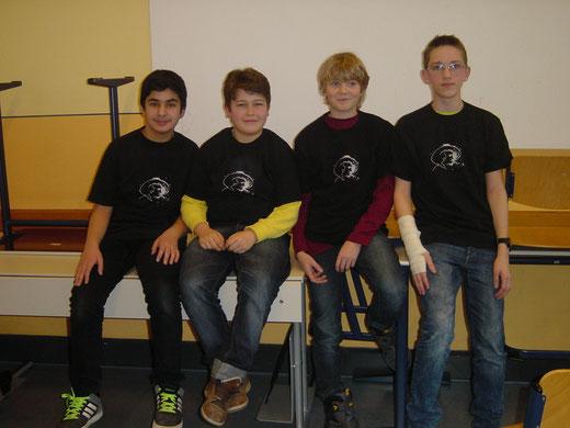 vlnr:Muhammed, Kay, Eric, Marcel
