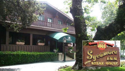 Cucamonga (CA) Essenszeit. Wir hatten oft die Qual der Wahl - z.B. Sycamore Inn Steak House (seit 1848) oder....