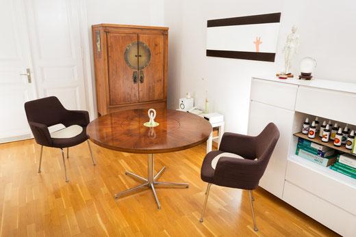 Praxis - RAUM FÜR BERATUNG -Sitzgruppe für Beratung und  Psychotherapie