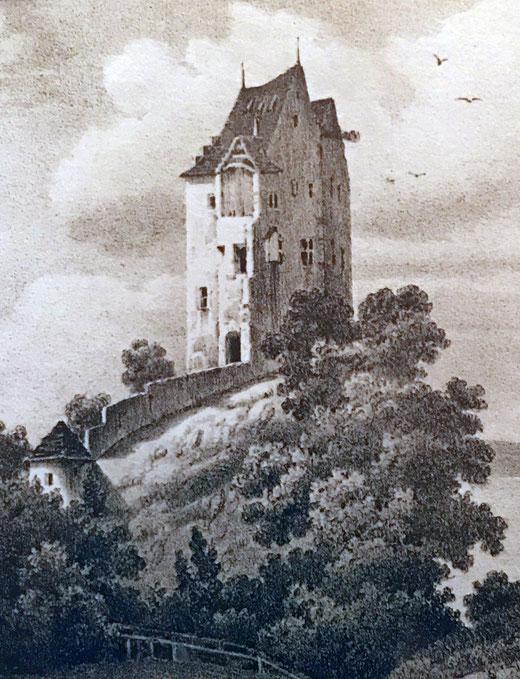 Lithographie Engelmann - Privatbesitz