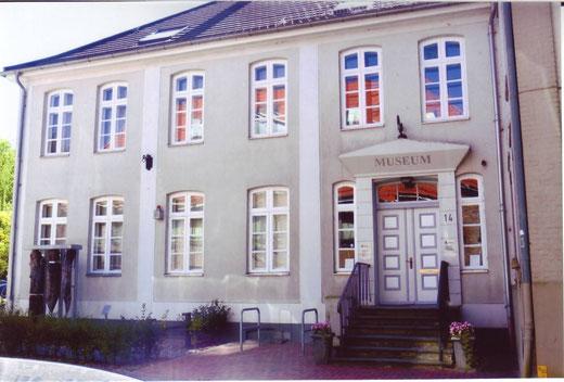 Frontansicht des Heimatmuseums Preetz