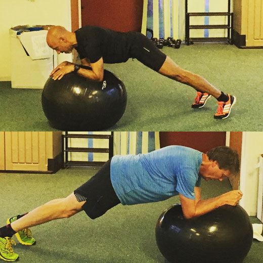 Challenging the core by adding in the ball