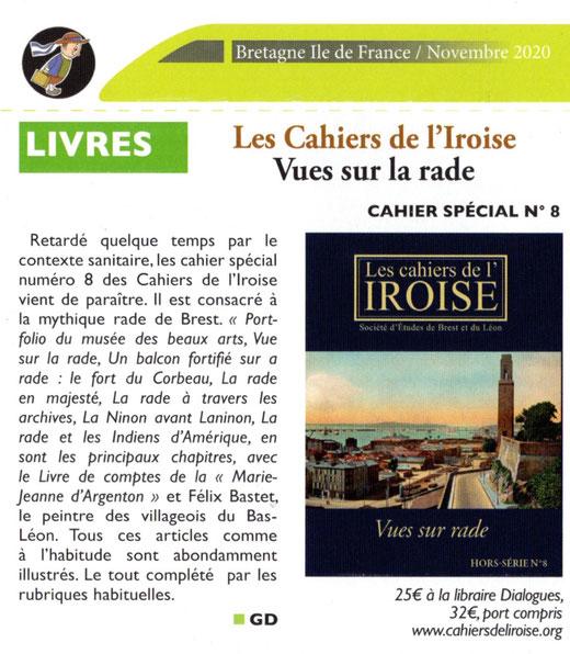 Bretagne Île de France n° 235, novembre 2020