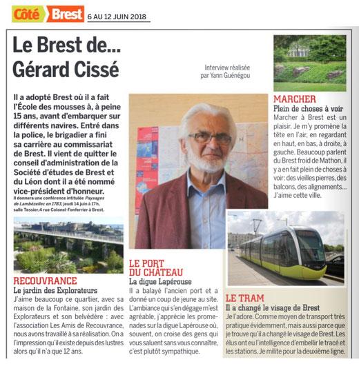 Côté Brest, du 6 au 12 juin 2018