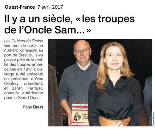 Ouest-France, 7 avril 2017