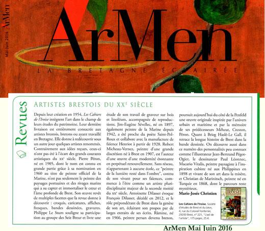 ArMen n° 212, mai-juin 2016
