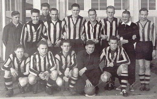 Begin Betaald Voetbal in 1954