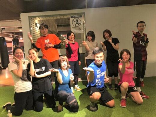 大阪のボクシングジムの通常会員とパーソナルトレーニングのお客様のお声