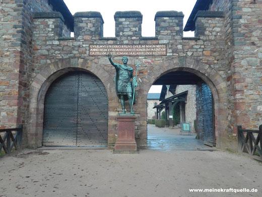 Saalburg, Kastell in Hessen, Kraftquelle, Ausflug mit Kindern