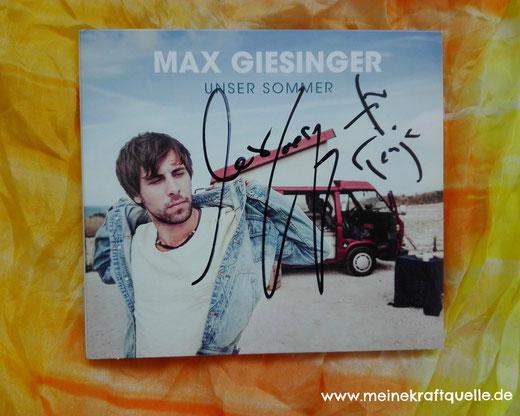 Max Giesinger, Meine Kraftquelle