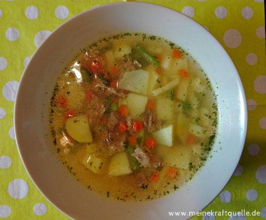 Suppe für die Seele, Kraftsuppe, Warmes bei Kaltem, Kraftquelle