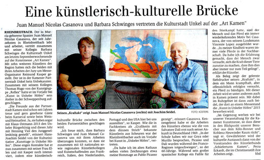 General-Anzeiger 30./31. August 2014