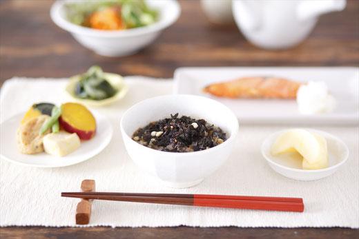 スーバランスの無添加のお茶漬けを食卓に。栄養バランスを整えましょう。
