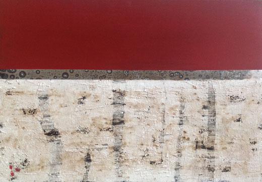 Leinwand, 100 x 70 cm, Mischtechnik - Christiana Sieben