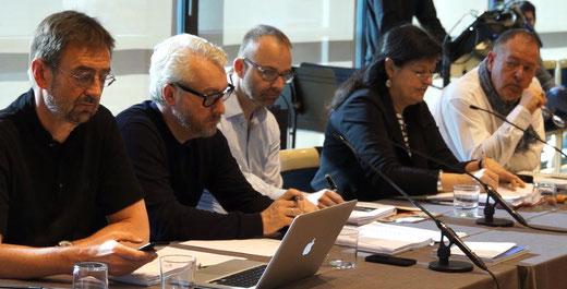 v.l.n.r.: Detlef Brandenburg, Peter Spuhler, David B. Devan, Dr. Birgit Meyer, Dieter Kaegi
