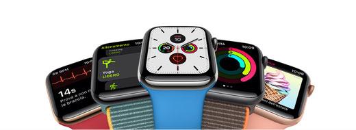 Hai rotto il vetro del tuo Apple Watch Serie 5? Chiama 3478192356 Riparazione Apple Watch Firenze e prendi un  appuntamento presso il nostro Centro Assistenza Autorizzato.
