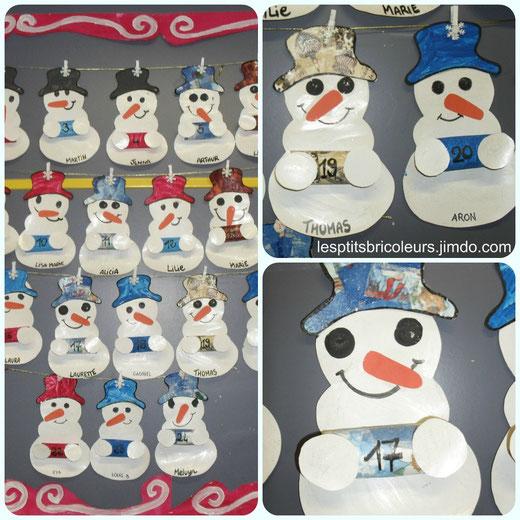 Boules en 3d lesptitsbricoleurss jimdo page - Modele bonhomme de neige ...