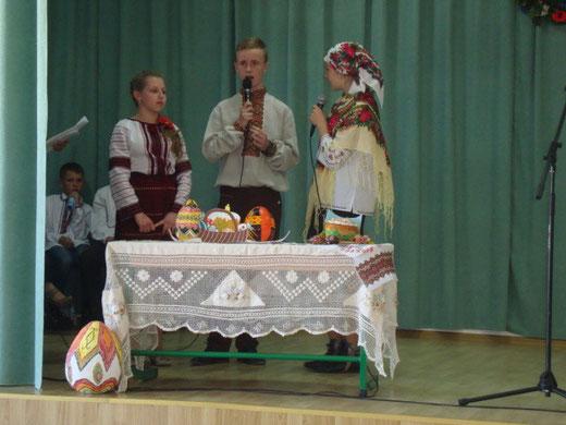 Учні розповіли про ритуали і звичаї та пояснили їх
