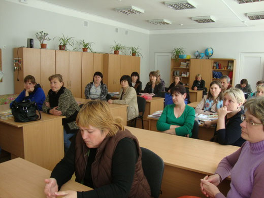 Засідання вислухало доповідь про стан харчування учнів школи