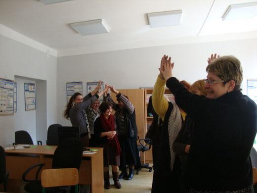 Мета тренінгу - формувати навички співробітництва вчителів