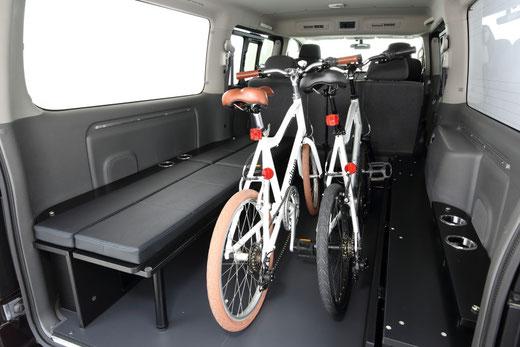 ▲自転車積載・アウトドア