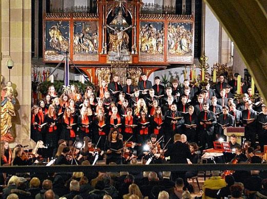 The Messiah - BfM Bad Königshofen - Leitung: Ernst Oestreicher - Stadtpfarrkirche - 2015