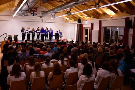 """Konzert """"Junge Chöre - Junge Stimmen"""" in Nordheim 2015  --- ( Jugendchor Mellrichstadt )"""