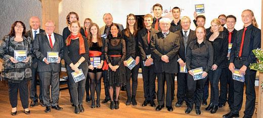 Festkonzert der BfM Bad Königshofen zum 80. Geburtstag von Erhard Nowak - Kloster Wechterswinkel 2015